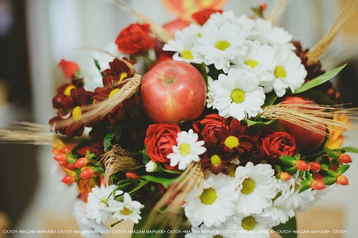 яблоки и цветы мода 2015