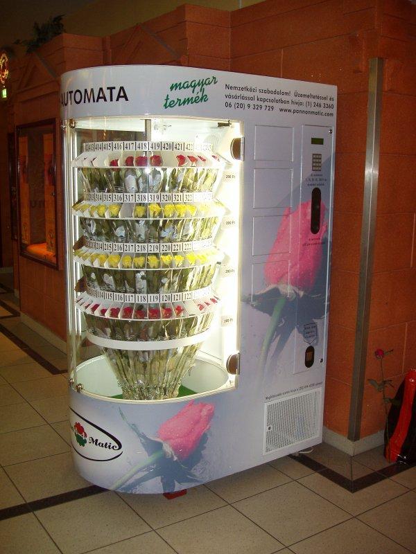 Автомат по продаже цветов купить