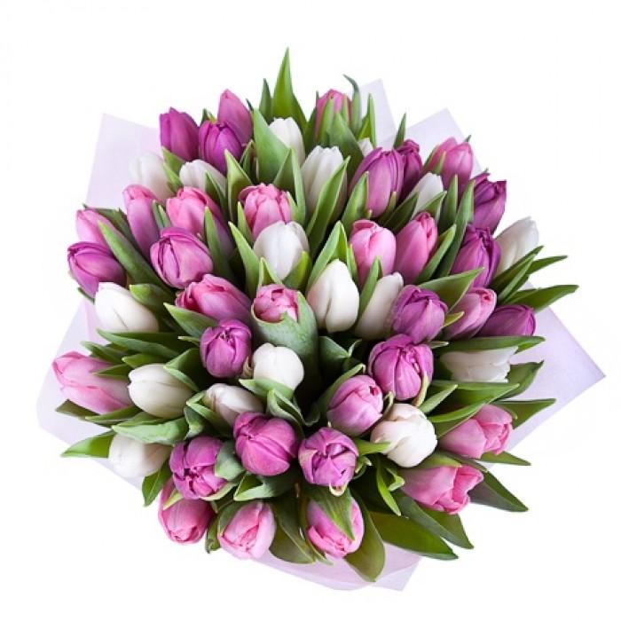 Тюльпаны для мамы своими руками 46