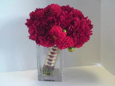 Красный цветы для свадебного букета значение — pic 4