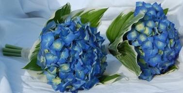 гортензии букет свадебный флористика