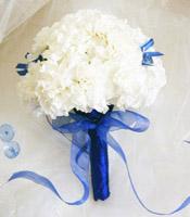 свадебный недорогой букет невесты гвоздика флористика цветы фото свадьба