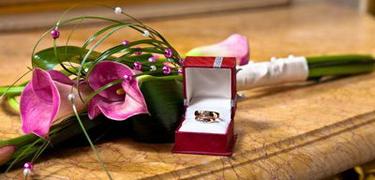 свадебный букет длинный каллы цветочный бизнес невеста