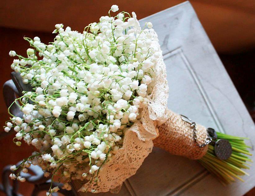 свадебный букет ландыши цветы фото флорист цветочный бизнес