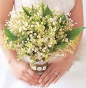 ландыши букет невесты цветы фото