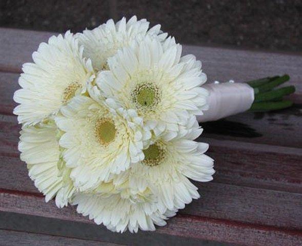большие ромашки фото цветы свадебный букет цветочный бизнес