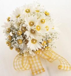 свадебный букет фото ромашка цветы цветочный бизнес