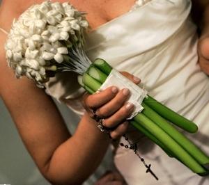 стефанотис свадебный букет фото