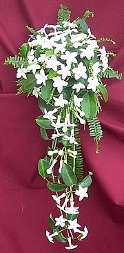 цветы стефанотис букет невесты флорист