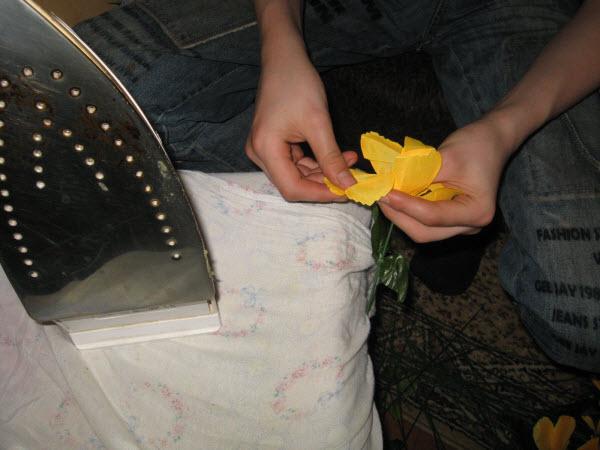 Как отпаривать искусственные цветы в домашних условиях
